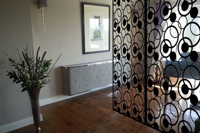 Metallic room divider