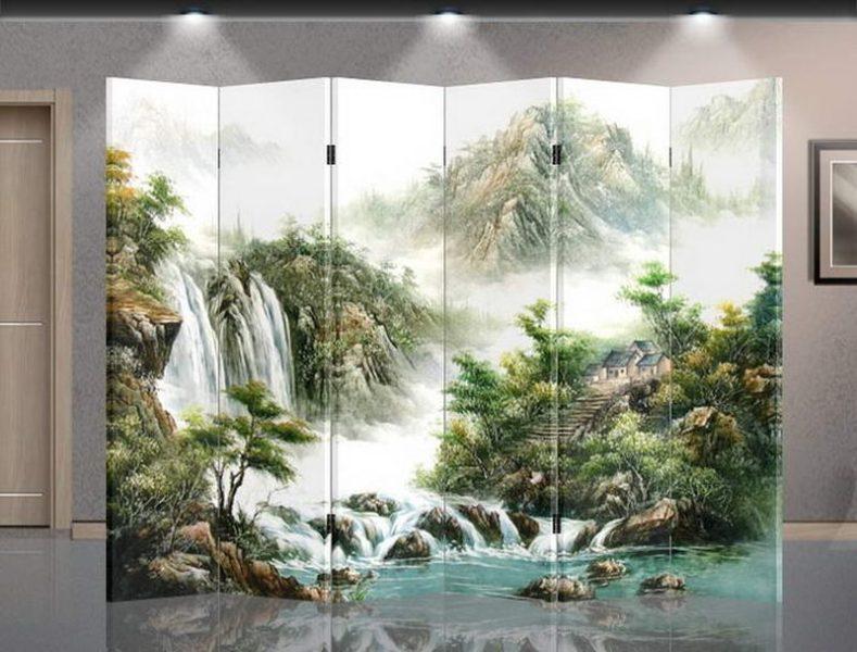 Mountain Screen Room Divider