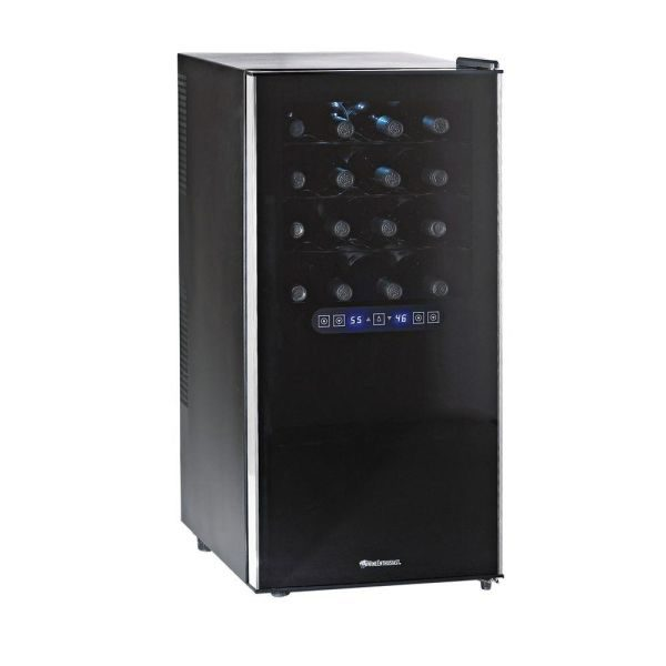 32 Bottle Dual Zone Touchscreen Wine Refrigerator