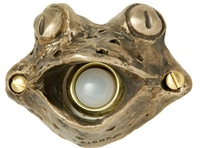 Bronze Frog Doorbell