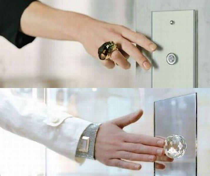 Bright home Swarovski crystal studded light switches