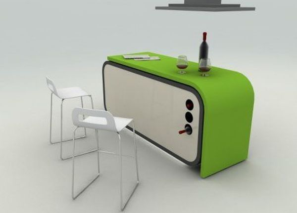 Modular Kitchen Concept by Fevzi Karaman
