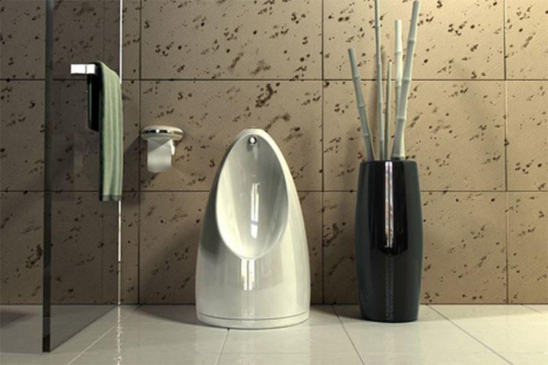 Swiveling toilet