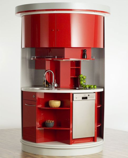 Circle from Compact kitchen unit Concepts