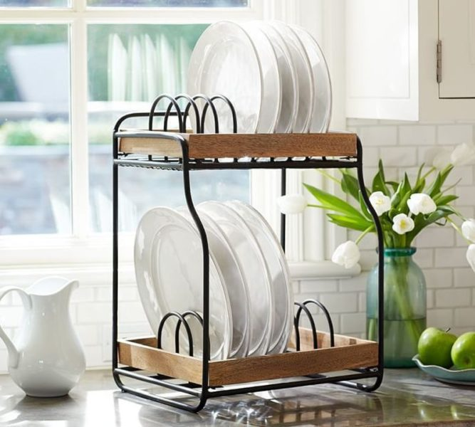 The humble double tier rack