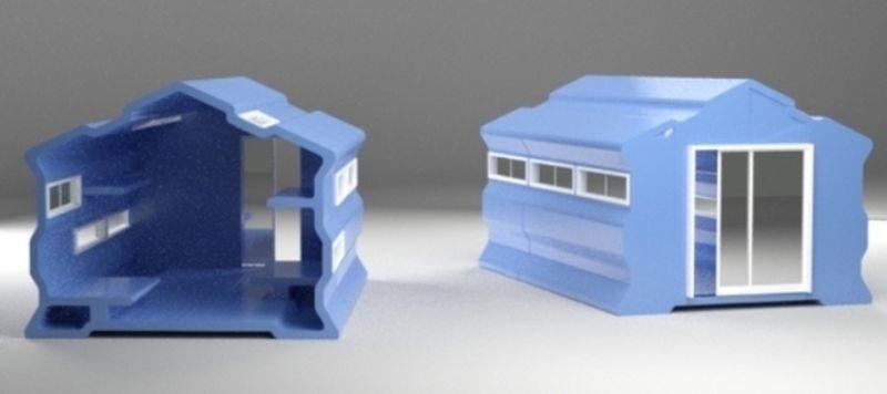 Rotomolding Module house