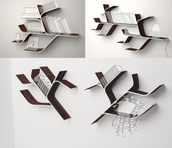 Inspired By Nature: Tree Branch Shaped Shelf For Your