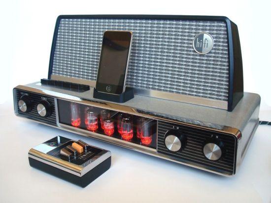 1958 arvin radio ipod dock
