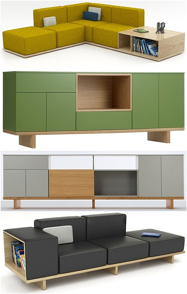 Traditional japanese home interior - Arik Levy Quot Geta Furniture Range Quot Inspired By Japanese
