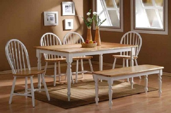 Dining tables and chairs for stylish homes hometone for White casual dining table