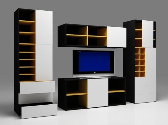 Well known Cas - Modular TV stand cum bookshelf! - Hometone - Home Automation  OI36