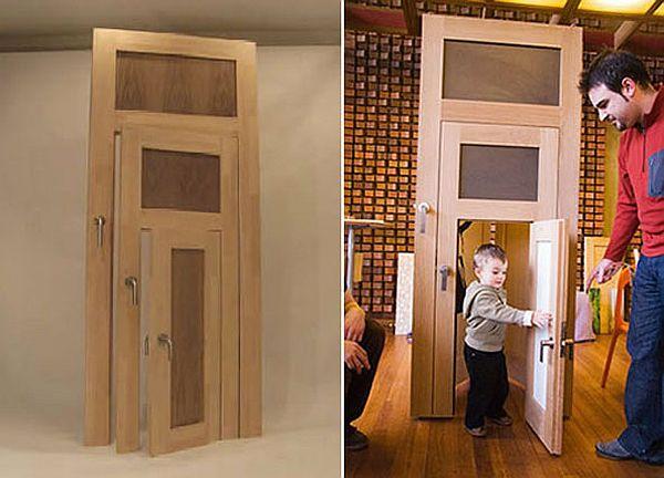 A 3-in-1 Door