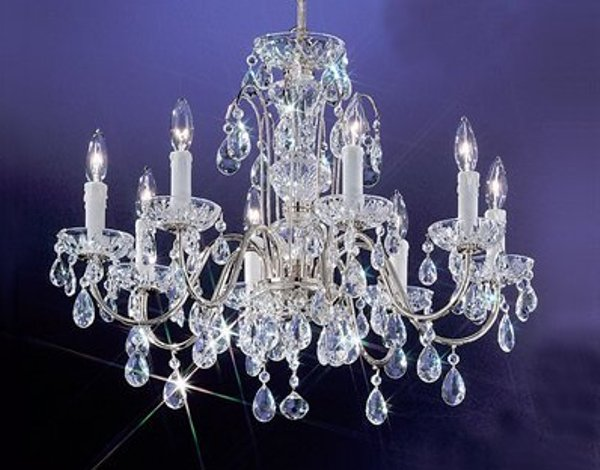 A beautiful chandelier