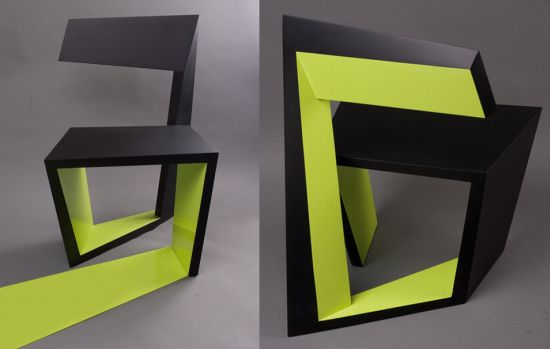 achair1 blends art with furniture