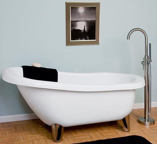 Acrylic Slipper Clawfoot Tub