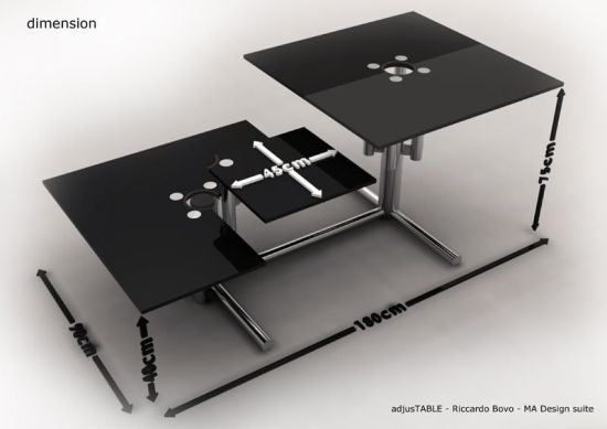 adjust table 7