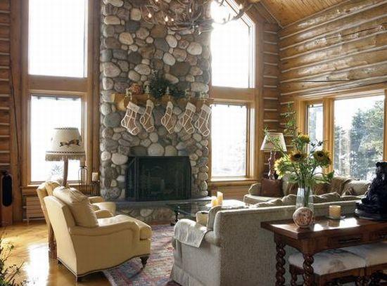 alpine log home2