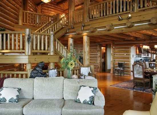 alpine log home3