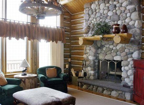 alpine log home4