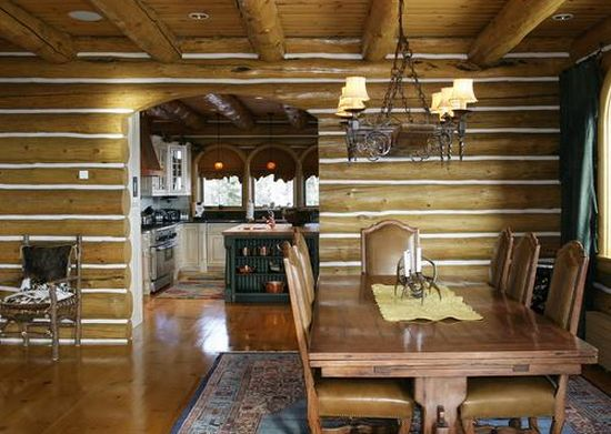 alpine log home5