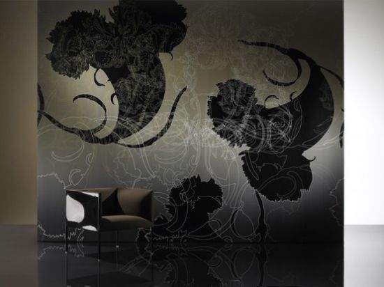 Black Beauty Dramatic Wallpapers By Iris Maschek Hometone Home
