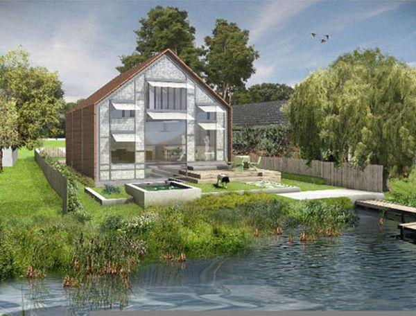 Amphibious house