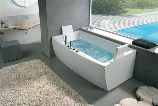 angular stylish contemporary bathtubs