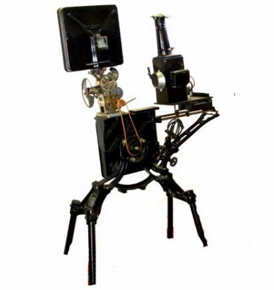 antique powers cameragraph 35mm movie projector