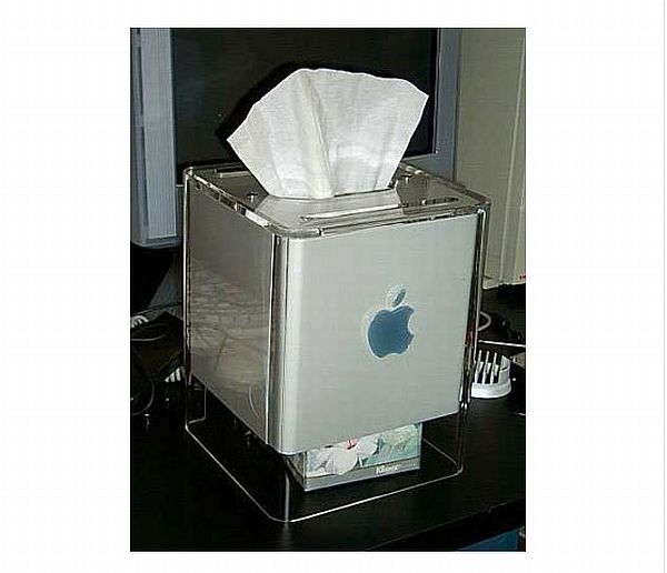 Apple G4 Tissue Box