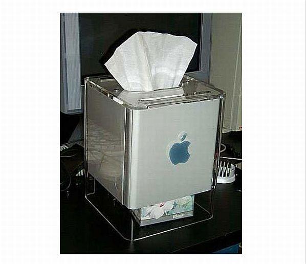 Apple G4 Tissue Box