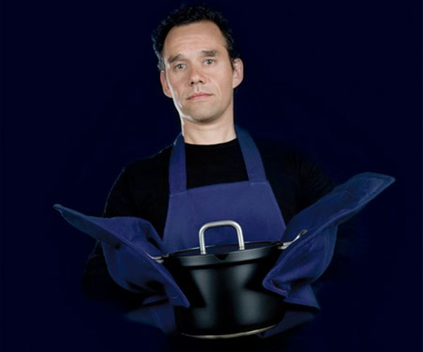 Apron+Built-In oven mitts