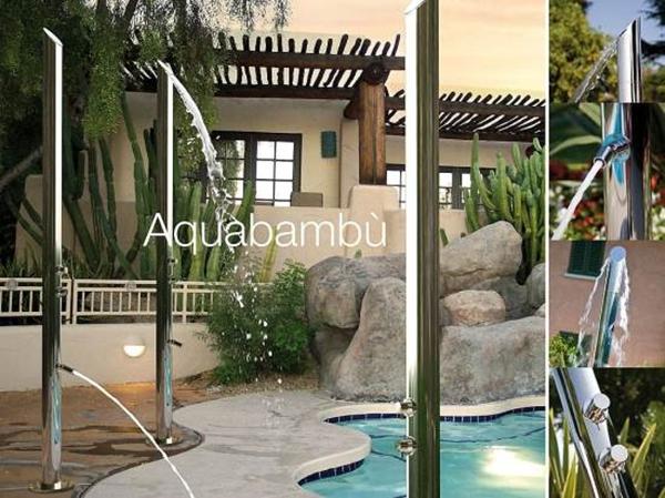 Modern outdoor shower designs hometone home automation for Home automation shower