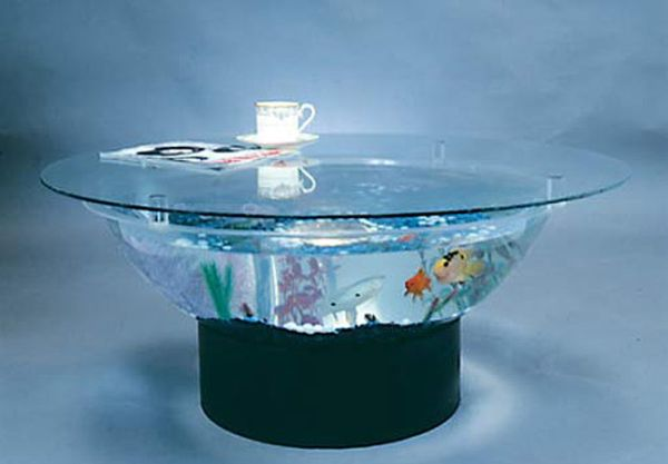 Aquarium 36-inch Coffee Table Set