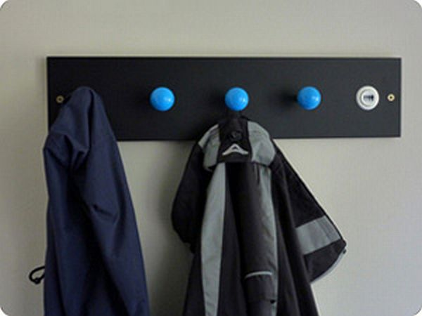 Arcade coat hooks