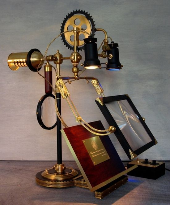 donovan s steampunk devices miraculously pretty or bizarre