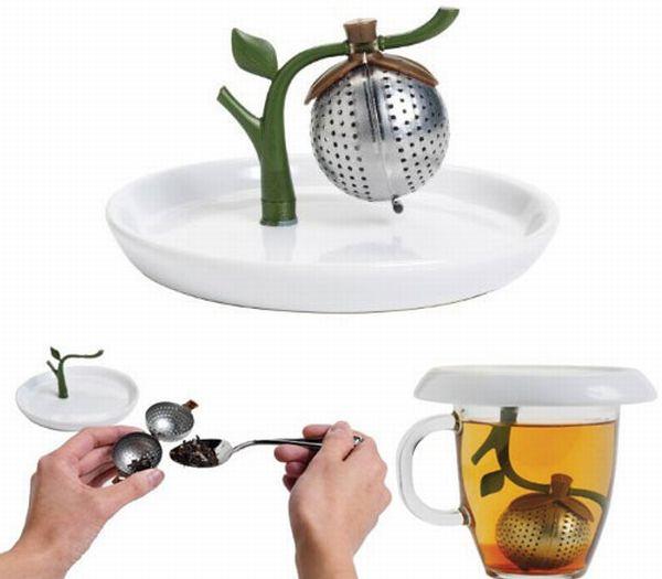 Arta Tea Infuser + Saucer