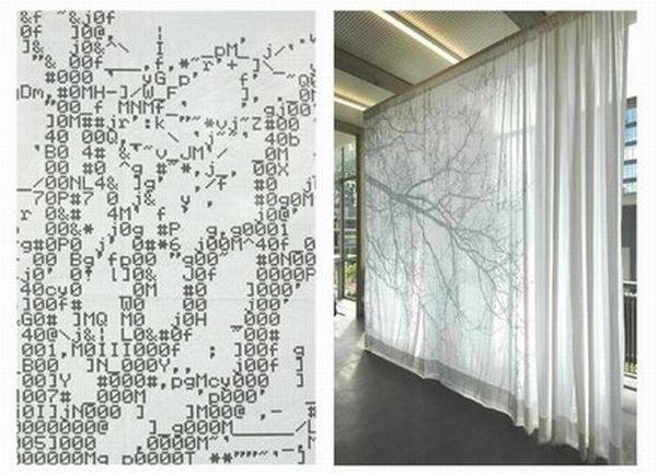 ASCII Curtains
