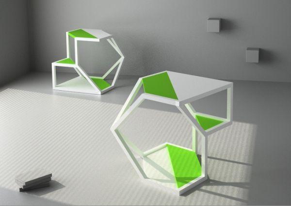 ASTEROID table-shelf