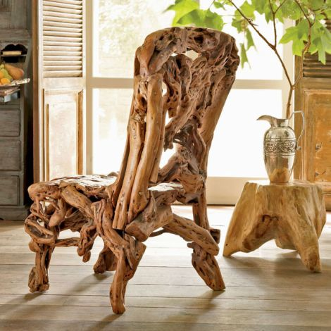 Azalea Wood Chair