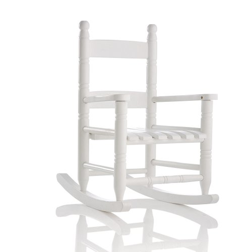 Charmant This Rocking Chair Is Perfectly Sized And Designed For Little Kids. The  White Color Looks Elegant And Peaceful And Is Designed To Provide Comfort.