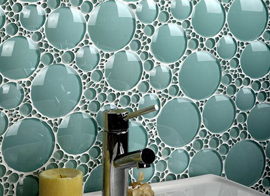 backsplash bathroom glass tiles evit2