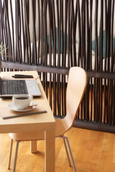 Bamboo furniture room divide