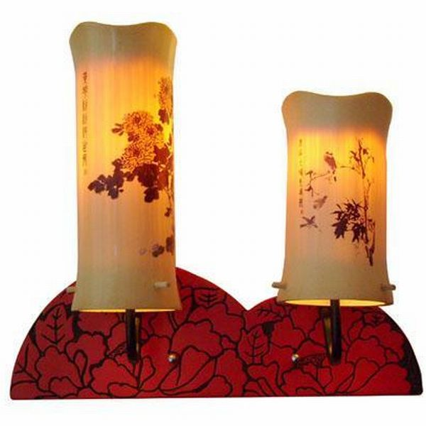 Bamboo lamp modern design with our charm of Chinese culture