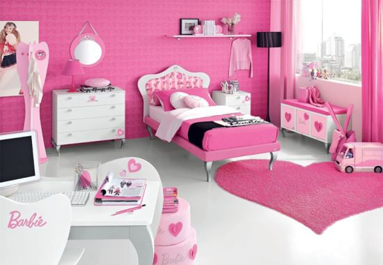 barbie pink design