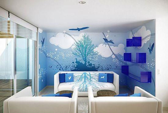 beautiful mural azuljp