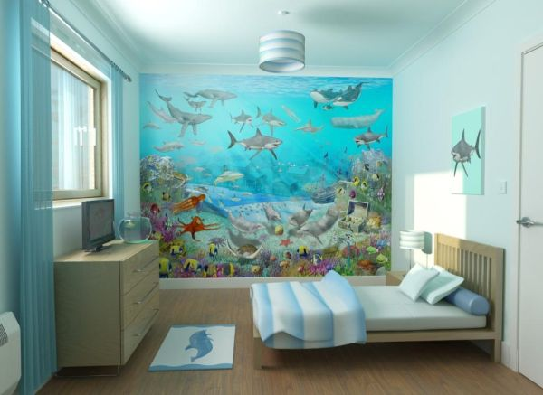 Gallery for gt underwater bedroom theme for kids