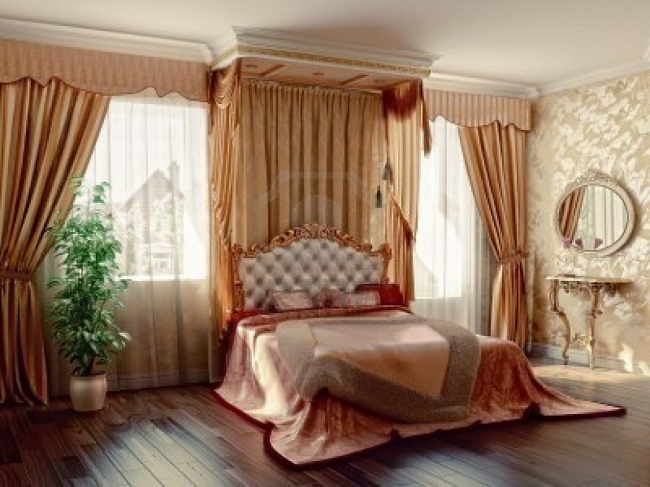 Bedroom curtain