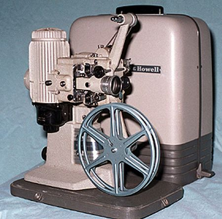 bell howell 273 silent 16mm projector