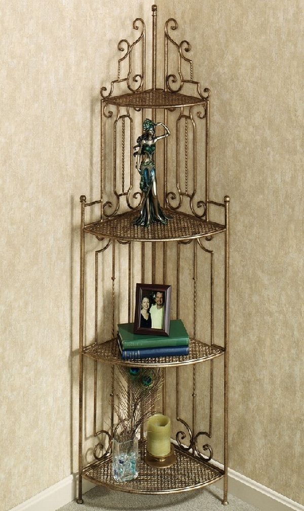 best corner shelves hometone. Black Bedroom Furniture Sets. Home Design Ideas