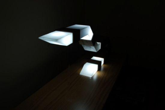 bent light